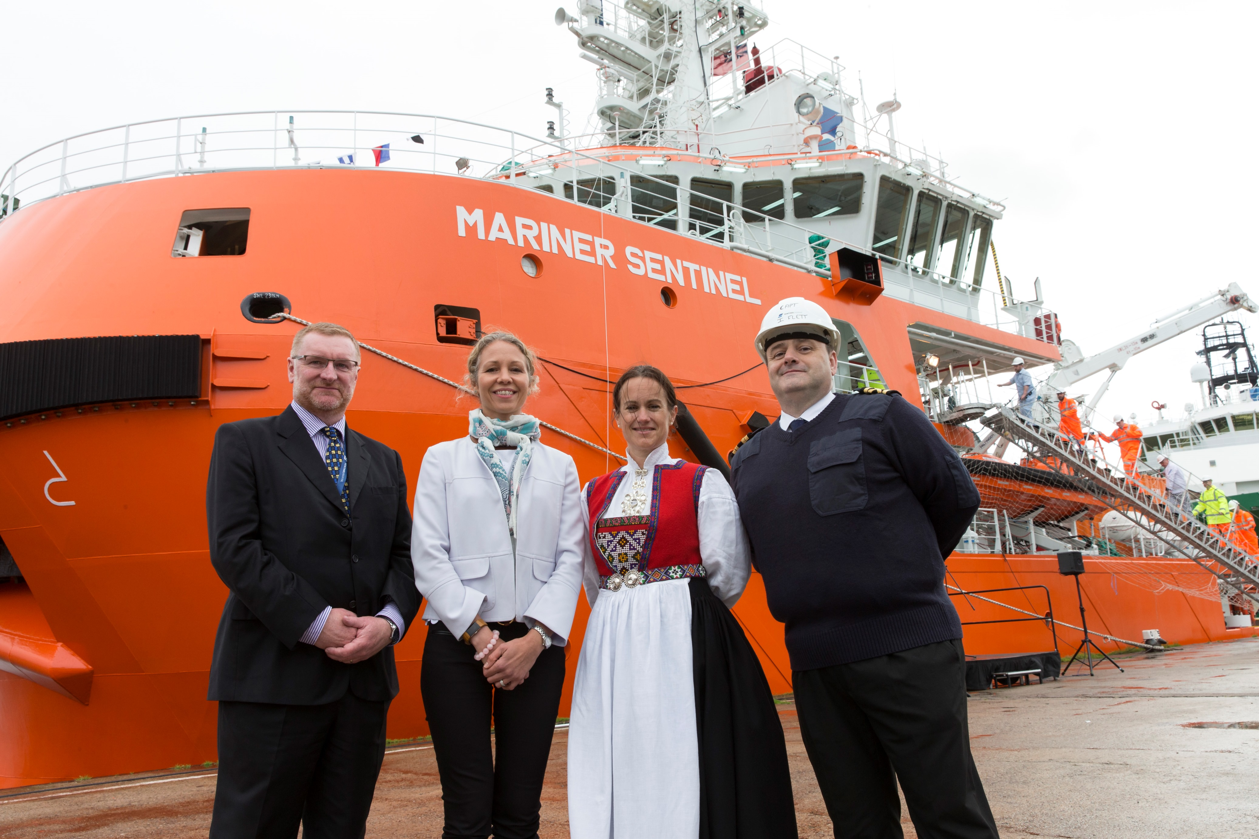 Christening of Mariner Sentinel takes place in Aberdeen ahead of Statoil deployment